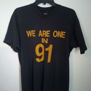 "Other - Vintage 1991"" We are one in 91"" T-Shirt"
